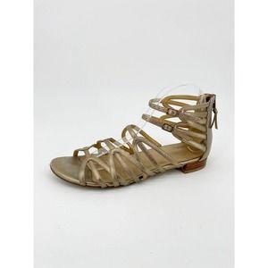 Stuart Weitzman Athens Leather Gladiator Sandal
